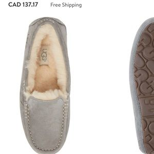 Authentic UGG Ansley moccasin slippers